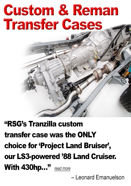 Custom and Reman Transfer Cases