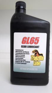 GL65 Full synthetic lubricant formulated for differetials and manual transmission gear boxes